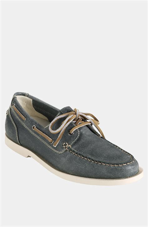 cole haan boat shoes cole haan air yacht club boat shoe in blue for teal