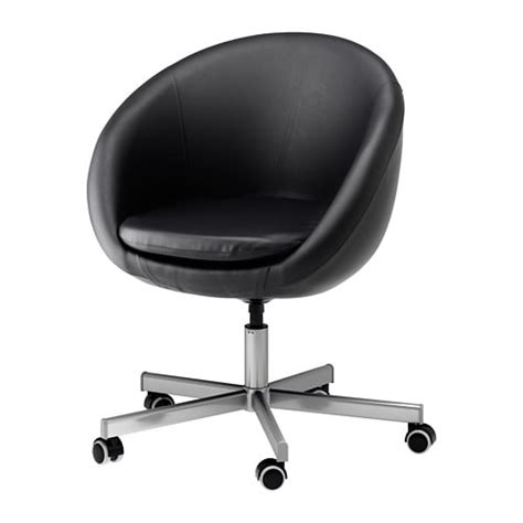ikea stoel 179 skruvsta swivel chair idhult black ikea