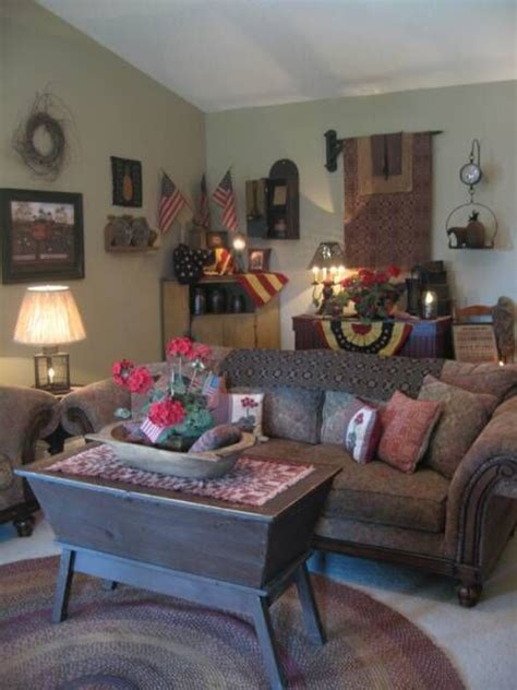 Primitive Living Room Furniture 17 Best Images About Primitive Americana Living Room Ideas On Country Sler