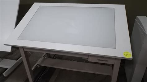 Plan Hold Drafting Table Used Light Table Box Hopper S Drafting Furniture