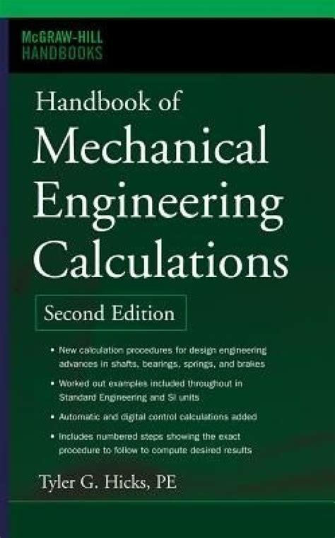 subsea engineering handbook books handbook of mechanical engineering calculations 2nd