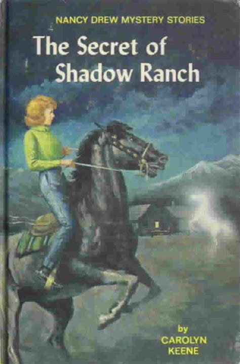 the book nancy series books for nancy drew 5 the secret at shadow ranch