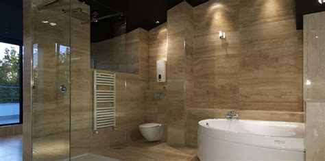 Spanish Tile Bathroom Ideas large wall tiles the bigger the better make your