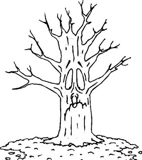 tree coloring pages  sun flower pages