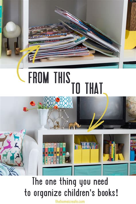 the one things books the one thing you need to organize children s books the