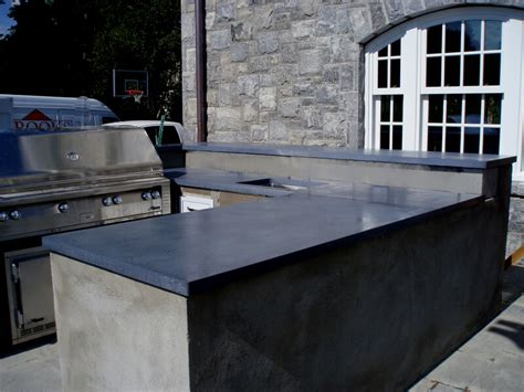 outdoor kitchen countertops engineered concrete products custom