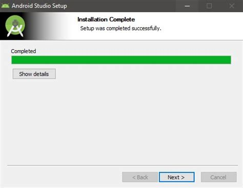 android development tutorial installing android studio how to install android studio 2 3 for android development