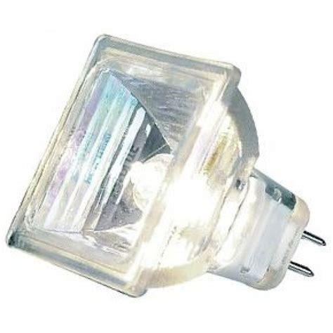 12 volt 35 watt square halogen light bulb aurora au mr16