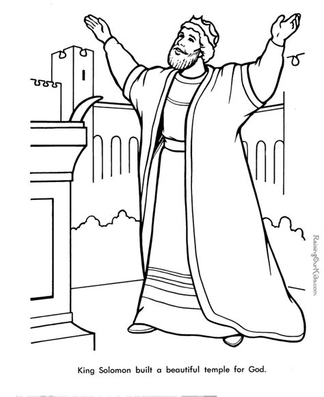 the king coloring pages free king solomon bible page to color christian coloring