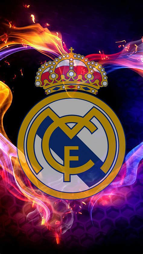 wallpaper graffiti real madrid real madrid logo 2 wallpaper for iphone x 8 7 6
