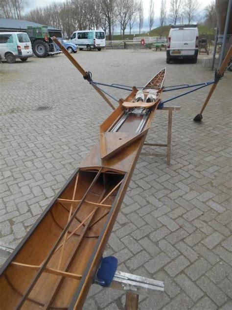skiff te koop roeiboot oude olympische wedstrijd skiff roeiboot 1 persoons hout
