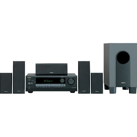 onkyo ht sr600 5 1 channel home theater system black ht