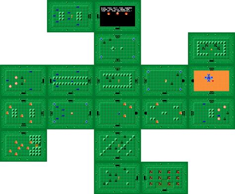 legend of zelda map dungeon 2 legend of zelda maps ian albert com