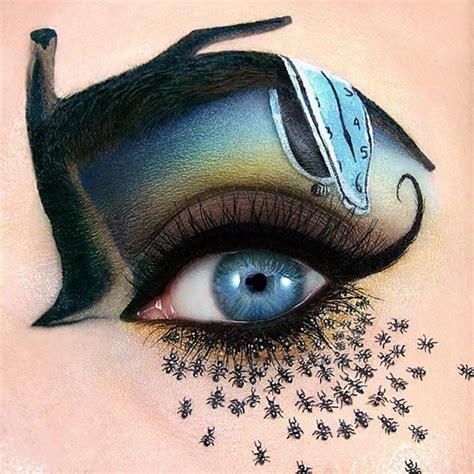 imagenes de ojos para halloween 20 maquillajes de ojos que te har 225 n destacar este halloween