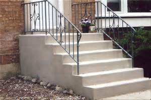 Cement Stairs Cost by Concrete Skokie Il 60076 60077 Delta Tuckpointing
