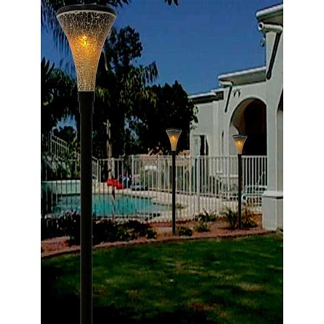 hton bay exterior lights solar tiki lights home depot large garden solar lights