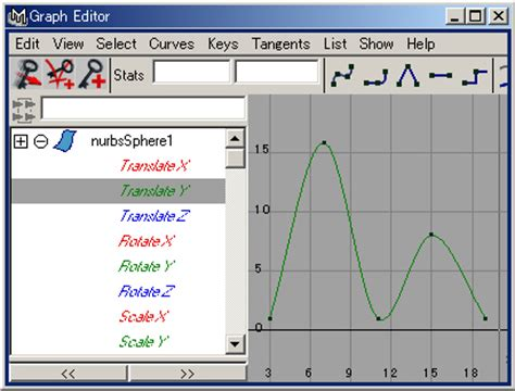 graph editor animation the basics of the graph editor tutorial