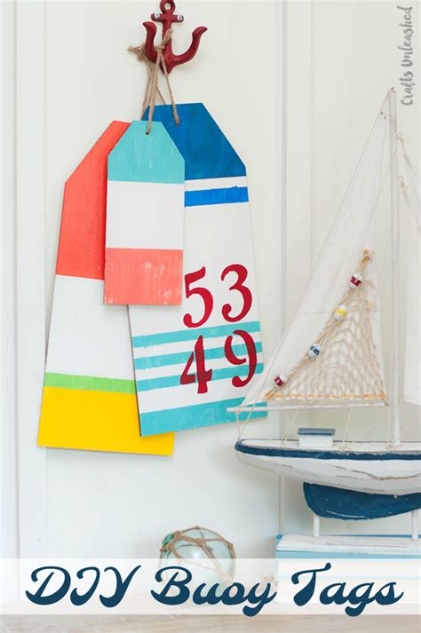 diy home decor crafts blog diy beach decor large nautical buoy tags consumer crafts