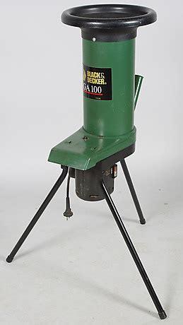 Kompostkvarn Black Decker Ga 100 214 Vrigt Modern