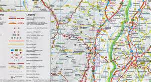 Map Of Southern Germany by Map Of Southern Germany Itm Mapscompany