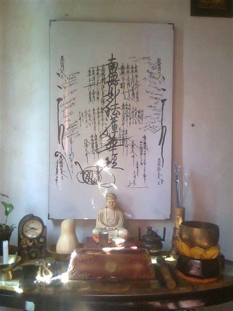 Muster Your Faith And Pray To The Gohonzon 17 Best Images About Meditation Room On