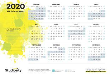 school terms  public holiday   wa   studiosity