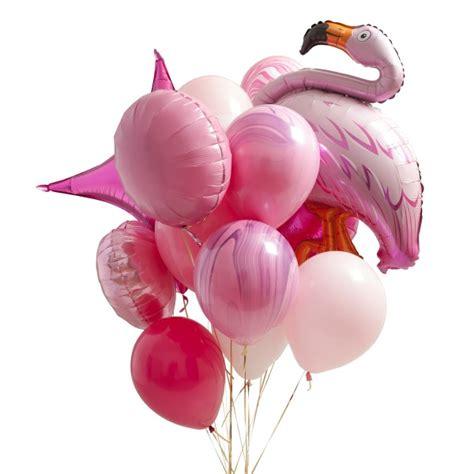 Ls5880 Flamingo Balloon Top 2 flamingo pink balloon bunch flamingo pink colour