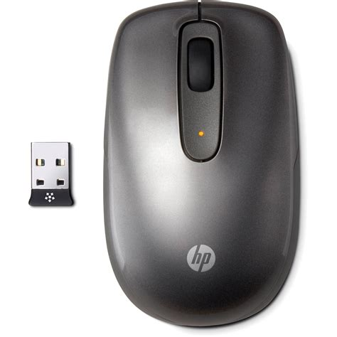 Mouse Wireless Merk Hp hp wireless mobile mouse charcoal lr919aa abl b h photo