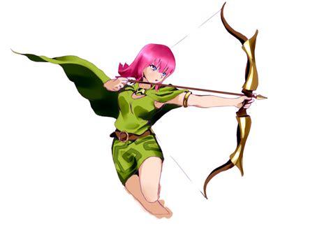 Figure Clans Of Clash Archer Acher clash of clans archer by jugapugz on deviantart