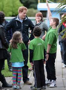 where does prince harry live prince harry tells new zealand kids he doesn t really live