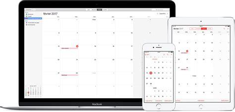 S Abonner Calendrier Iphone Utilisation Des Abonnements Aux Calendriers Icloud