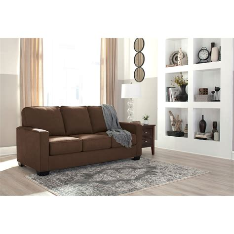 miskelly living room furniture signature design by ashley zeb full sofa sleeper with