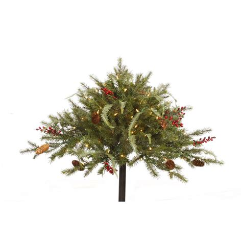 christmas tree fillers vickerman 27510 16 quot x 36 quot mixed pine urn filler g122855 elightbulbs