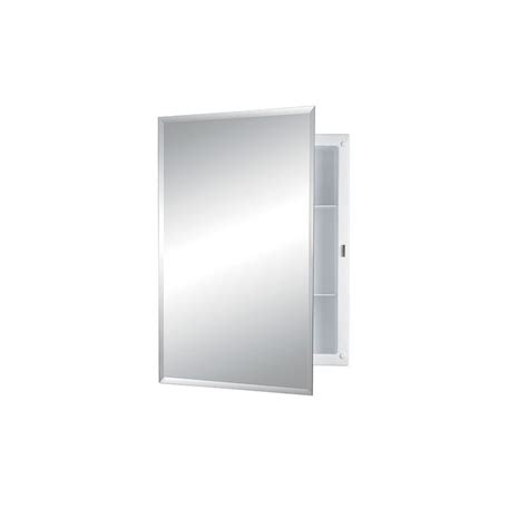 16 x 22 recessed medicine cabinet shop horizon 16 in x 22 in rectangle recessed