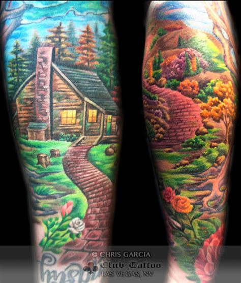 chris garcia tattoo chrisgarcia colorful