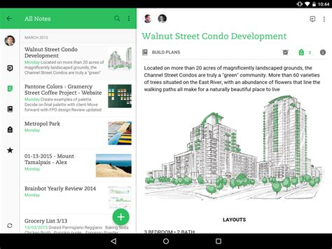 evernote for android evernote 7 for android tablet is now here