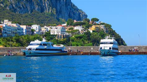 ferry naples to capri how to get to capri capri island review