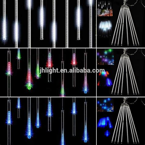teardrop christmas lights drop lights meteor shower falling drop icicle snow fall led tree