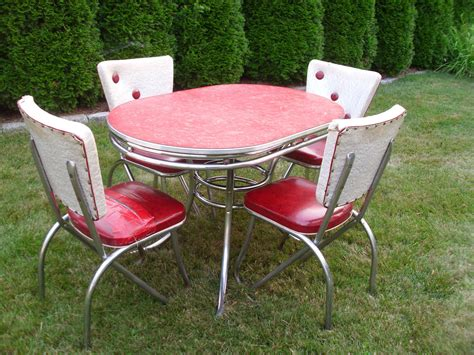 vintage 1950 s kitchen table chairs by 4theloveofvintage
