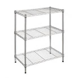 style selections shelving shop style selections 30 in h x 24 in w x 14 in d 3 tier