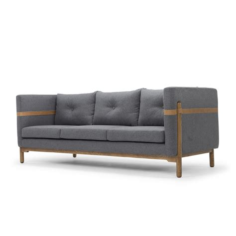 Nordic Upholstery Solveig Classic Modern Sofa Wayfair Classic Modern Sofas
