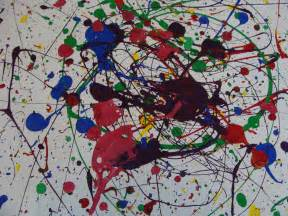 Dripping paint with pollock only passionate curiosity