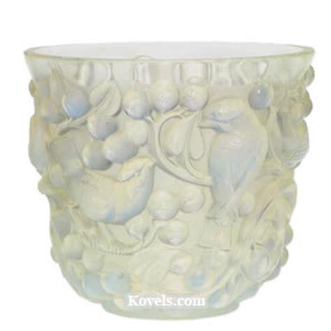 lalique bird vase antique lalique glass price guide antiques