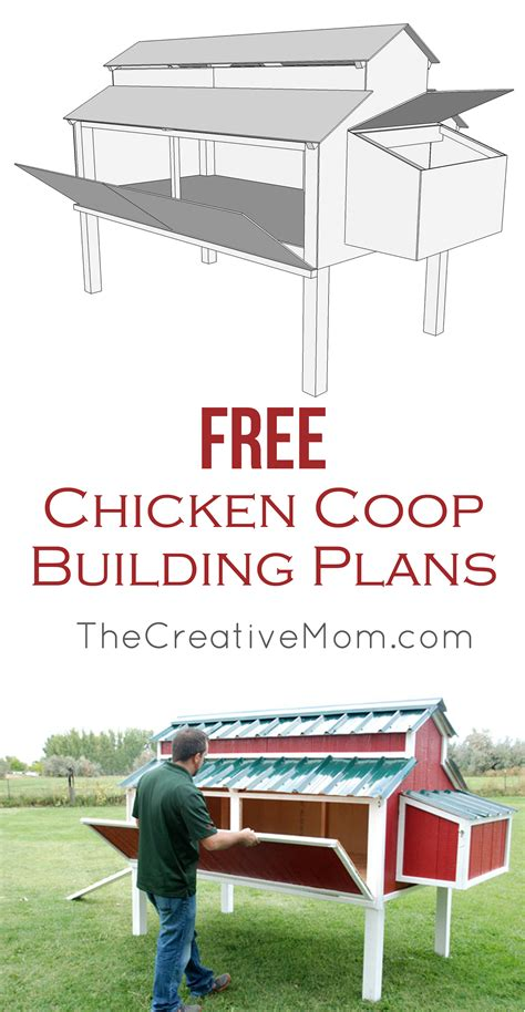 free backyard chicken coop plans free chicken coop plans the creative mom