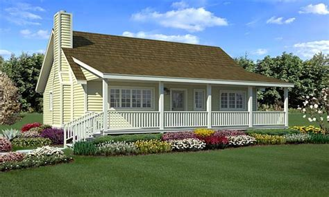 one story farmhouse plans wrap around porch modern house