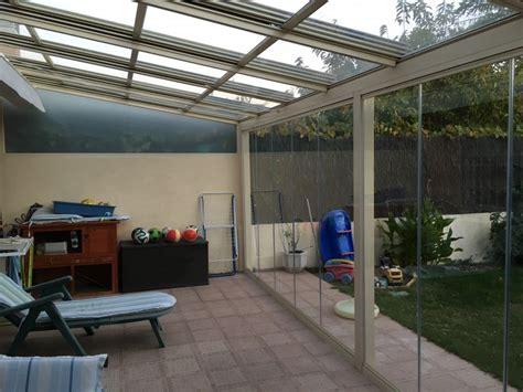 cortinas leganes techo m 211 vil con cortina de cristal instalada en leganes