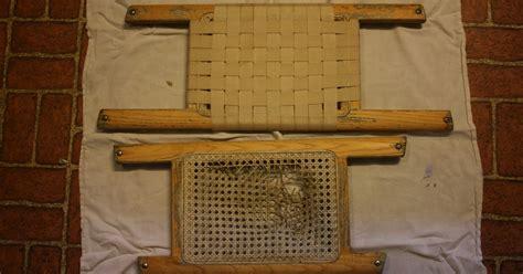 canoe seat webbing material renovating our house re webbing canoe seats