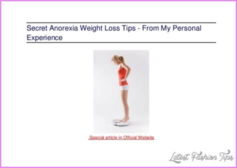 running tips latestfashiontips anorexia weight loss tips latestfashiontips
