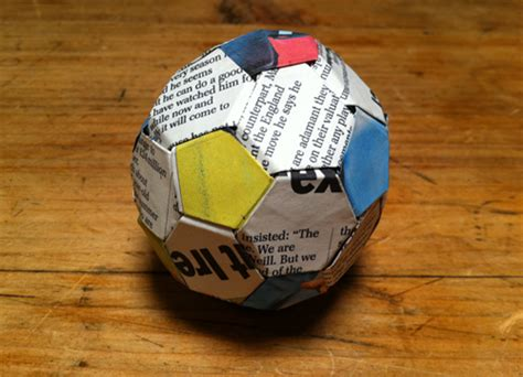 How To Make An Origami Football - wordsandpicturesandthings origami football