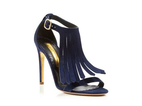 blue high sandals navy blue high heel sandals qu heel